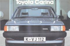 DE Toyota Carina A60 1982